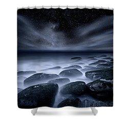 Sky Spirits Shower Curtain by Jorge Maia