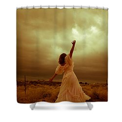 Sky Splitter Shower Curtain