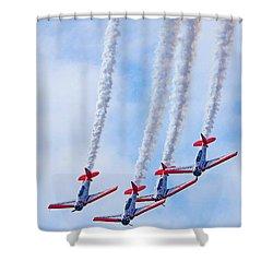 Sky Squadron Shower Curtain
