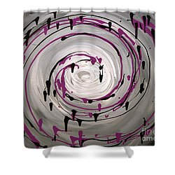Sky Swirl Shower Curtain