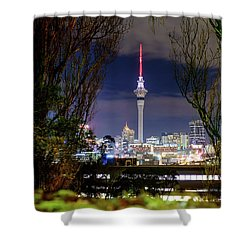 Sky Tower Shower Curtain