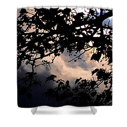 Sky Works Shower Curtain
