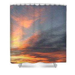 Shower Curtain featuring the photograph Skylight by Erika Chamberlin