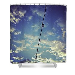 Skylights Shower Curtain