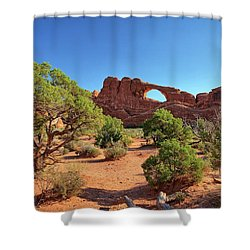 Skyline Arch Shower Curtain