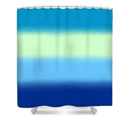 Skyline - Sq Block Shower Curtain