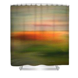 Skyline Shower Curtain by Lenore Senior