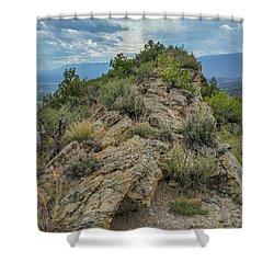 Skyline Ridge Shower Curtain