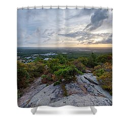 Skyline Trail Vista Shower Curtain