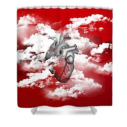 #skylovers Shower Curtain