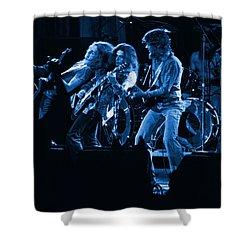 Blues In Spokane Shower Curtain