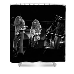Skynyrd In Spokane Shower Curtain by Ben Upham