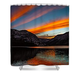 Skys Of Color Shower Curtain by Brian Williamson