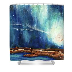 Sky_study Shower Curtain by Amy Williams