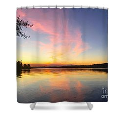 Slack Tide Shower Curtain
