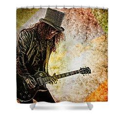 Slash - Guitarist Shower Curtain