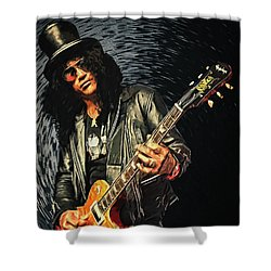 Slash Shower Curtain