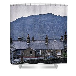 Slate Grey Wales Shower Curtain