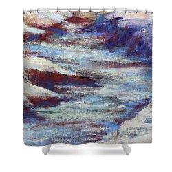 Slate River Melt Shower Curtain