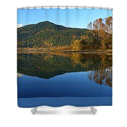 Sleek Serenity 3 Shower Curtain by Heather Vopni
