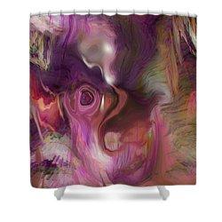 Sleep Of No Dreaming Shower Curtain by Linda Sannuti