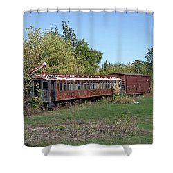 Sleepers Shower Curtain