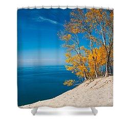 Sleeping Bear Dunes Vista 002 Shower Curtain