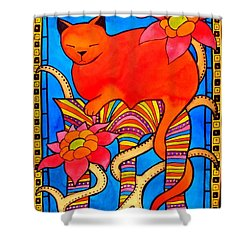 Sleeping Beauty By Dora Hathazi Mendes Shower Curtain
