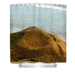 Sleeping Giant At Marthas Vineyard Shower Curtain