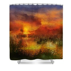 Sleeping Nature II Shower Curtain