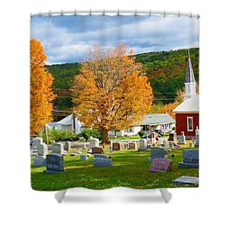 Sleeping Peacefully Shower Curtain by Jeanette Oberholtzer