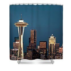 Shower Curtain featuring the photograph Sleepless In Seattle by Eduard Moldoveanu