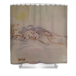 Sleepy Heads Shower Curtain