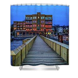 Sleepy Hollow Pier Shower Curtain