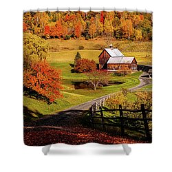Sleepy Hollow - Pomfret Vermont-2 Shower Curtain
