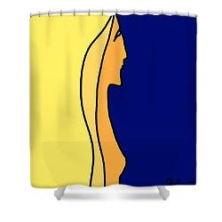 Slender Shower Curtain