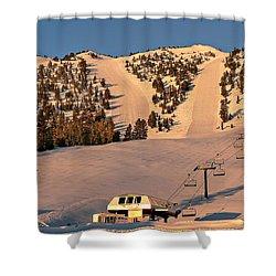 Slide Mountain Shower Curtain