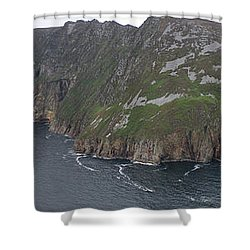 Slieve League Cliffs Shower Curtain