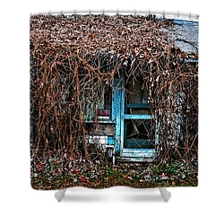 Slightly Overgrown Shower Curtain by Christopher Holmes