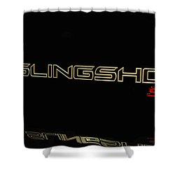 Shower Curtain featuring the photograph Slingshot by Robert Hebert