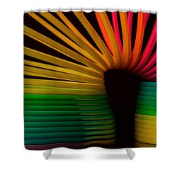 Slinky Shower Curtain