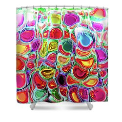 Shower Curtain featuring the digital art Slipping And Sliding by Menega Sabidussi