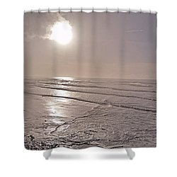 Slipping Away Shower Curtain