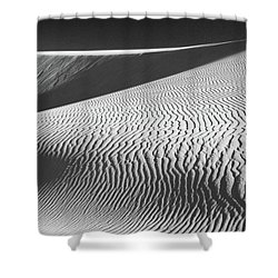 Slipping Through My Fingers Shower Curtain by Laurie Search