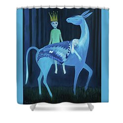 Sliten Nattsvermer Shower Curtain