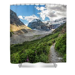 Sliver Of Light - Banff Shower Curtain