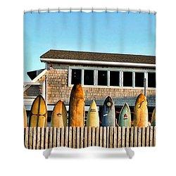 Sloppy Tuna Restaurant, Montauk Long Island Shower Curtain