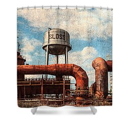 Sloss Shower Curtain by Phillip Burrow