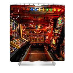Slot Machines Shower Curtain