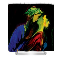 Slow Dance Shower Curtain